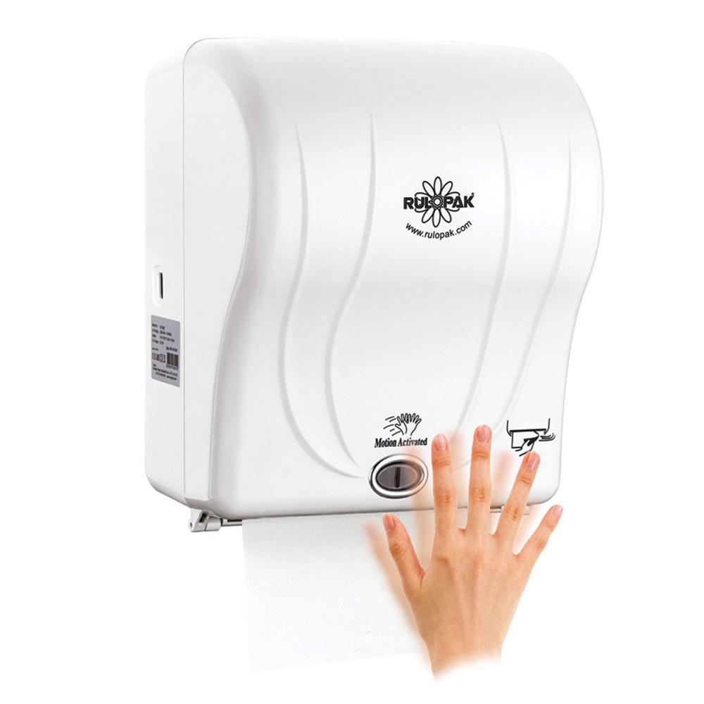 Sensörlü 21cm Havlu Makinesi  Beyaz
